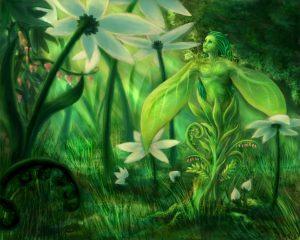 Plant_Spirit_by_Kitsune_aka_Cettie