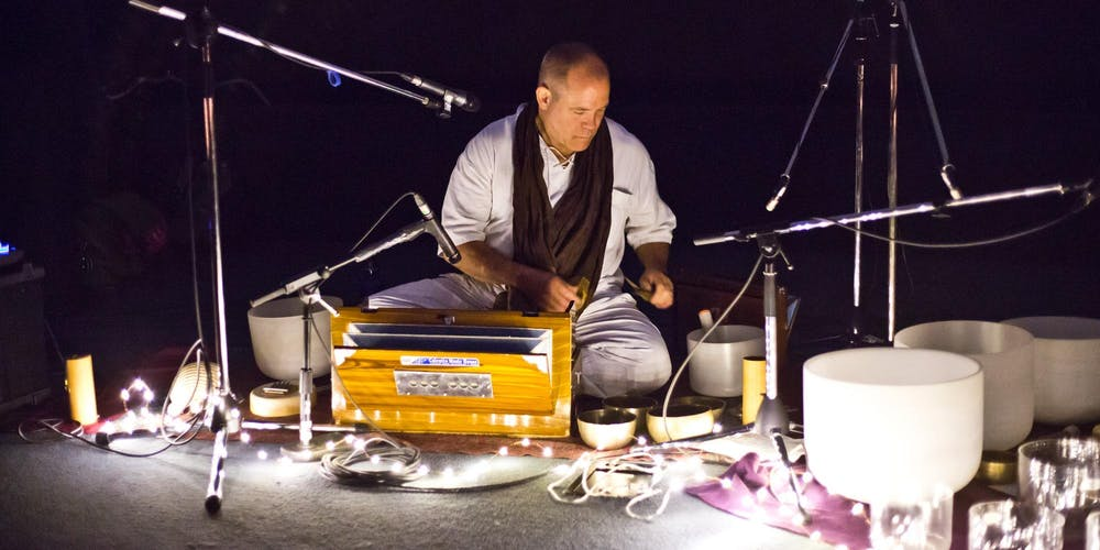 Ancient Voices Sound & Cacoa Journey with Cosmic Throat Singer Matthew Kocel