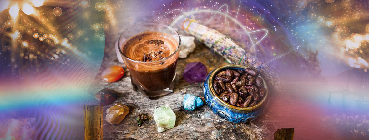 """April 11, 2020: Aztec Combo """"Magic"""" Cacao Ceremony: Meditation and Sound Journey – with Matthew Kocel"""